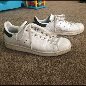 Adidas Leather Stan Smith White & Black Sz 6.5